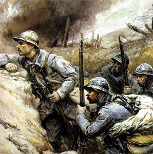 soldat Francais avant attaque